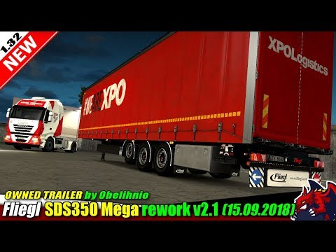 Fliegl SDS350 Mega - Rework v2.11