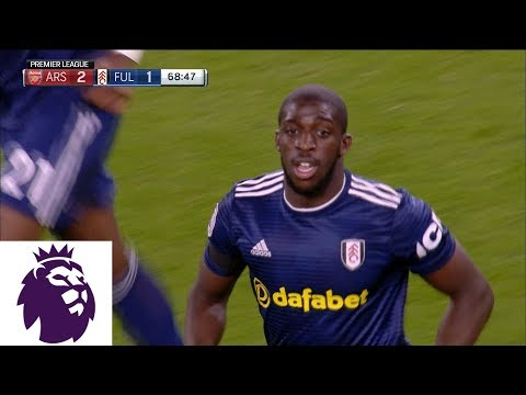 Video: Fulham's Kamara cuts into deficit with goal against Arsenal | Premier League | NBC Sports