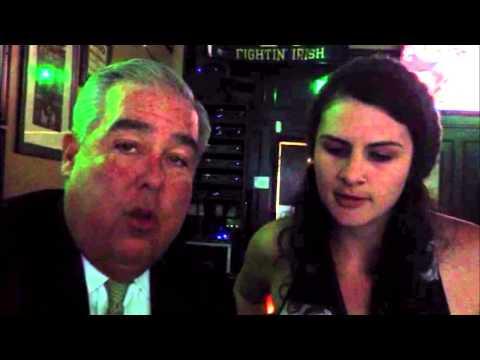 Sabrina raps with John Morgan