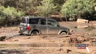 Destrucción por deslaves en el Sur de California- Noticias 62 - Thumbnail