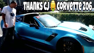 DID I REALLY JUST SELL CJ ON 32S MY CORVETTE WHILE IN VEGAS......