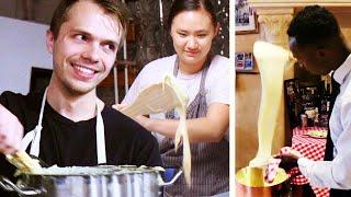 Video Re-Creating the Cheesiest French Potato Dish (Aligot) MP3, 3GP, MP4, WEBM, AVI, FLV Agustus 2019