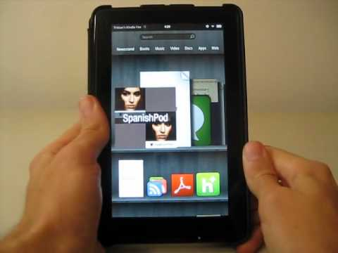 How I Use My Kindle and Kindle Fire for Foreign Language Learning