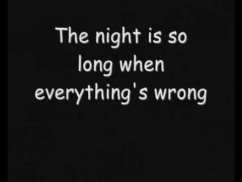 Skillet - The Last Night (Lyrics)