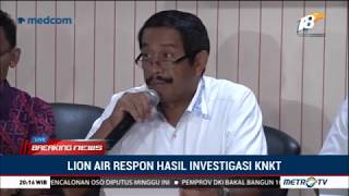 Video Respons Lion Air atas Hasil Investigasi Awal Lion Air PK-LQP MP3, 3GP, MP4, WEBM, AVI, FLV Januari 2019