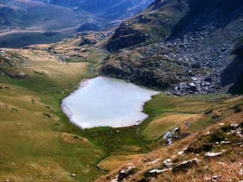 Glacial lakes of Sharr mountain