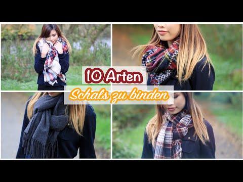 10 Arten Schals zu binden!    Kisu