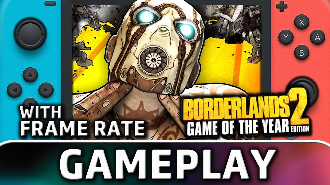 Borderlands 2   Nintendo Switch Gameplay and Frame Rate
