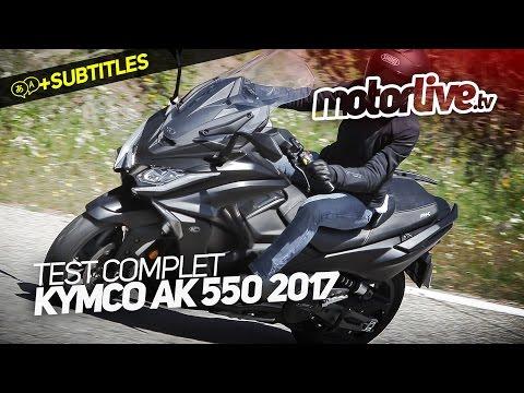 KYMCO AK 550 ABS 1ER MAIN 1500 KM