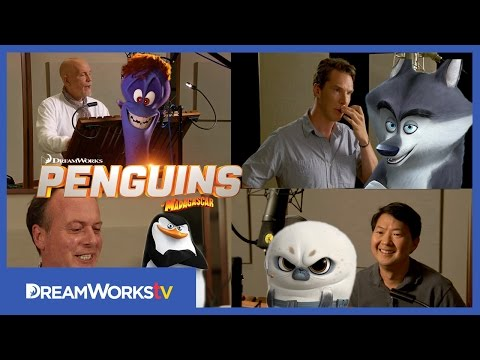 Video Behind the Scenes With The Cast: Cumberbatch, Malkovich and MORE! | PENGUINS OF MADAGASCAR download in MP3, 3GP, MP4, WEBM, AVI, FLV January 2017