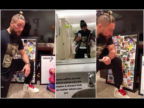 Uncle Enzo Amore collects more magnets for his niece