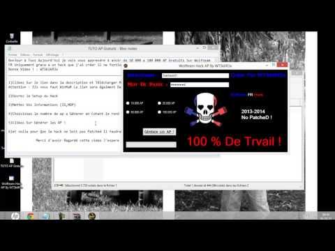 Wolfteam Hack AP 2014