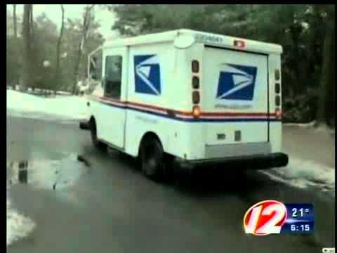Massachusetts Mail Man - Ethel Kennedy's turkey attacked Mass mailman.