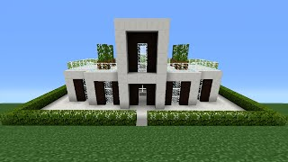 Minecraft Tutorial: How To Make A Miniature House - 3