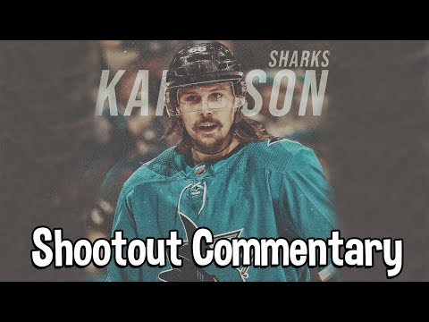 Erik Karlsson  ÉCHANGÉ !! - NHL19 Shootout Commentary #2