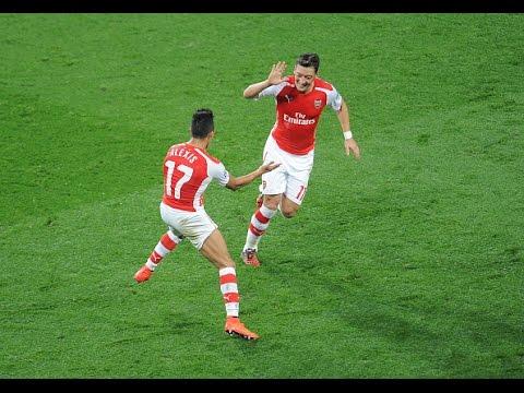 Mesut Ozil & Alexis Sánchez | Arsenal Duo | skills & goals | 2016/17