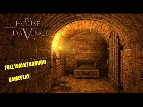 The House Of Da Vinci * Full Game Walkthrough Gameplay