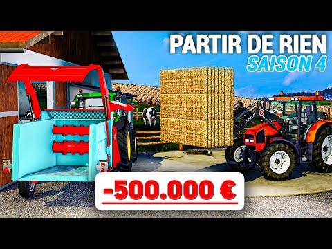 Enfin la ferme à vaches ! | Partir De Rien SAISON 4 #27 (Farming Simulator 19)