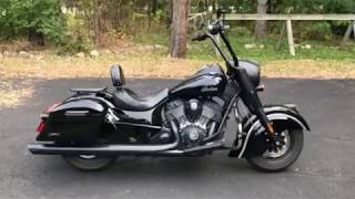 8. 2016 Indian Chief Dark Horse Motorcycle Hard Saddlebags Review - vikingbags.com