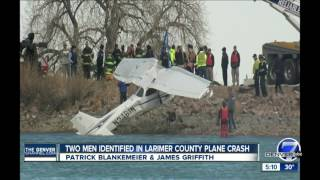 Pilot and passenger who died in Colo. plane crash identified