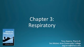 Memorizing Pharmacology Video 3 of 7