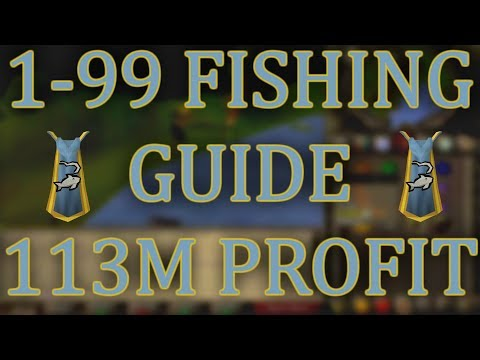 ULTIMATE OSRS 1-99 Fishing Guide With INSANE 113m PROFIT (видео)