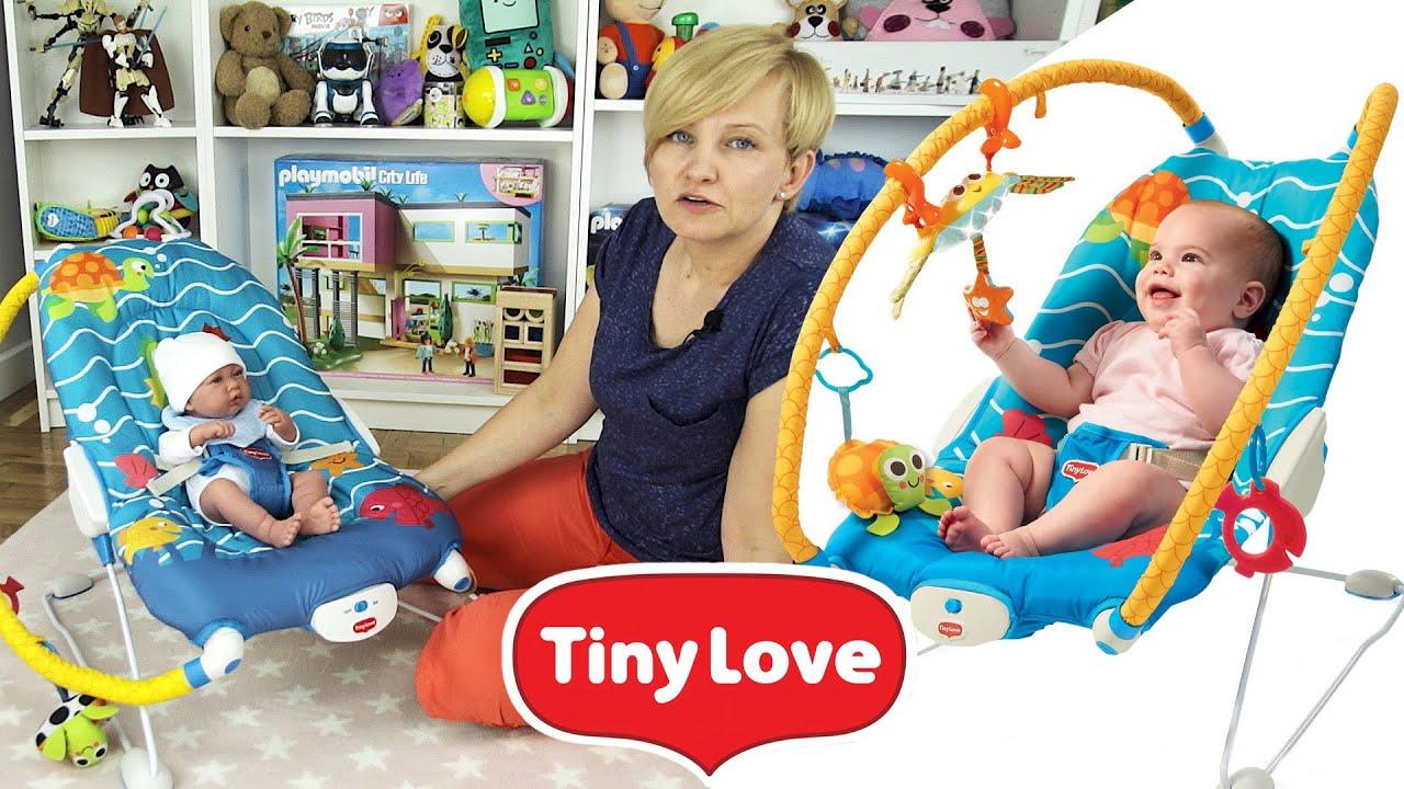 Tiny Love Leżaczek wibrujący - Podwodny świat. Marko