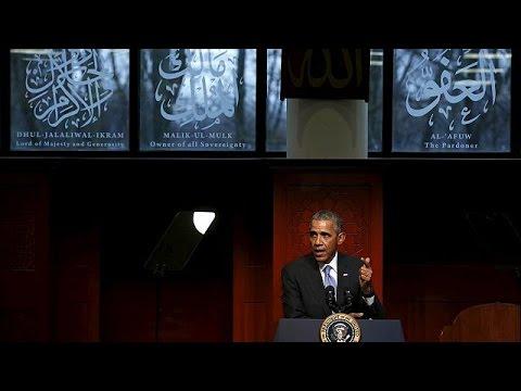 ΗΠΑ: Σε τζαμί της Βαλτιμόρης ο Μπαράκ Ομπάμα