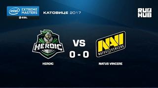 Heroic vs. NaVi - IEM Katowice EU - map1 - de_mirage [yxo, Enkanis]
