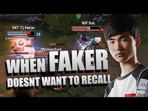 如果你不讓Faker 回家 下場會..