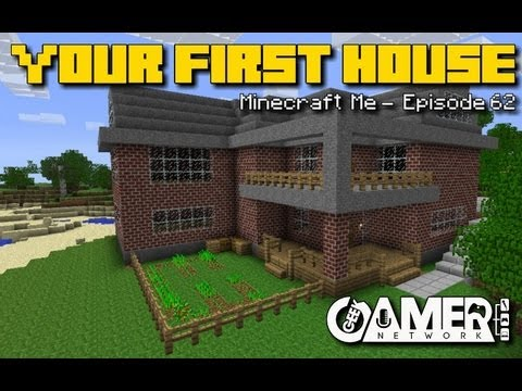 Building your first Minecraft house!