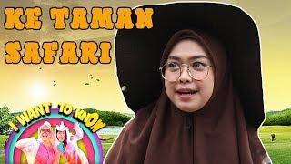 SERU BANGET! Ria Ricis dan Lifia Main Sama Binatang-Binatang Lucu - I Want To Know (10/3)  PART 1