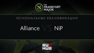 NIP vs Alliance, game 1