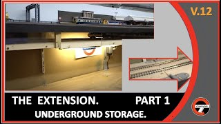 New extension build to house the rolling stock under the layout of Old Oak Bridge.Features:* Daily log of the build followed by a visit out with my son Callum to the model exhibition covering our journey out to buy some new track.The build will continue on Part 2 - to follow.