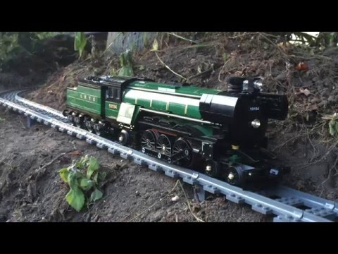 Man Attaches GoPro Camera to LEGO Train and Records Its Journey Through the House