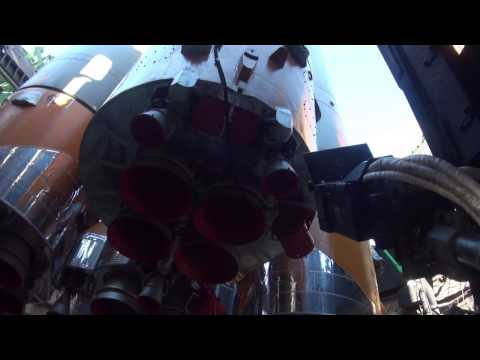 Soyuz Rocket Ready to Launch ISS Expedition 34/35 Crew into Space – Video