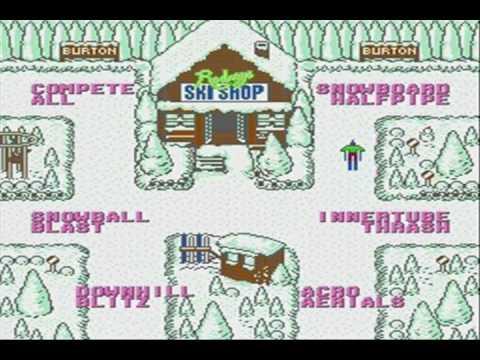 ski or die nes review