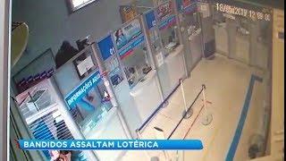 Bandidos roubam casa lotérica e fazem proprietária refém em Sorocaba