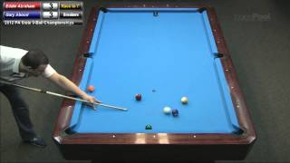 Eddie Abraham Vs  Gary Abood At The 2012 PA State 9-Ball Championships