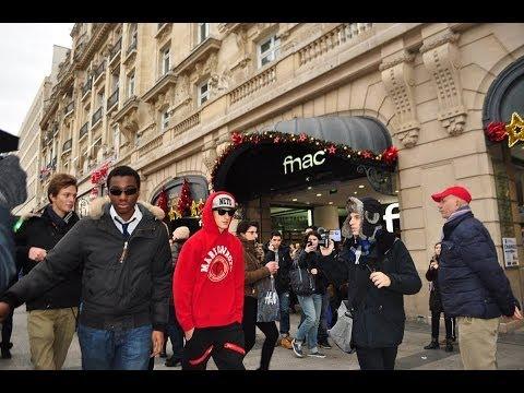Fake Celebrity Prank (Justin Bieber) in Paris|Champs Elysées - Knife Party LRAD (Music Video)