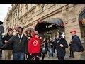 Fake Celebrity Prank (Justin Bieber) in Paris Champs Elysées - Knife Party LRAD (Music Video)