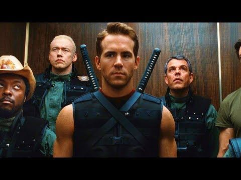 Wade Wilson (Deadpool) Deflecting Bullets Scene - X-Men Origins: Wolverine (2009) Movie CLIP HD