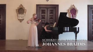 Download Lagu J.Brahms Scherzo in c minor from F.A.E Sonata, Wo0 2 MILAS-FUJINO Mp3