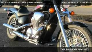 7. 2007 Honda Shadow VLX Deluxe (VT600CD)  - for sale in Crystal Lake, IL 60014