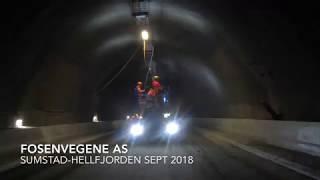 Tunnel Sumstad - Hellfjorden 2018