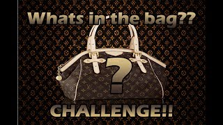 Whats in the bag #Challenge!!!