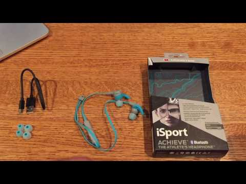 Monster iSport Achieve In-Ear Wireless Bluetooth Headphones Review