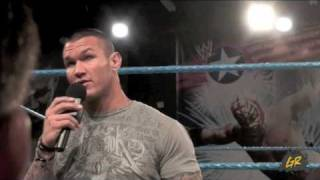 Randy Orton, Beth Phoenix and Jack Swagger Media interview Part 1
