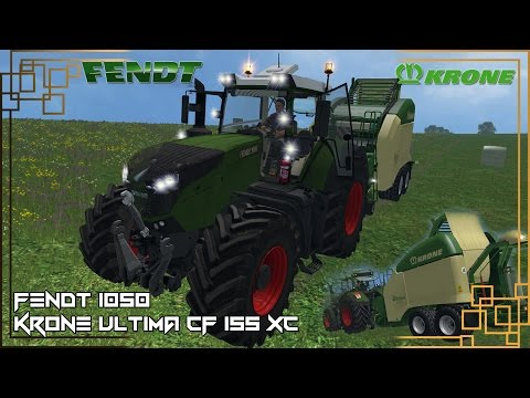 FENDT VARIO 1050 real scale and data v1