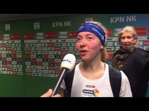 Esmee Visser breekt records